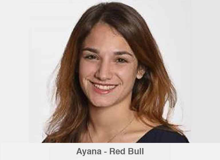 Ayana, Field Marketing Specialist chez Red Bull