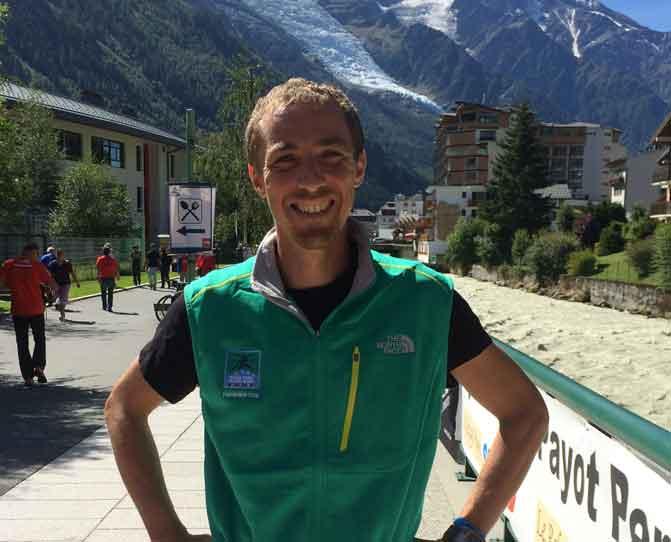 Ronan Lumbroso, coach sportif spécialisé dans la couse à pied.