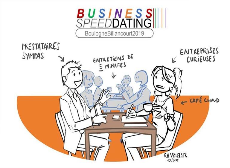 évènement de rencontres entres entreprises et prestataires